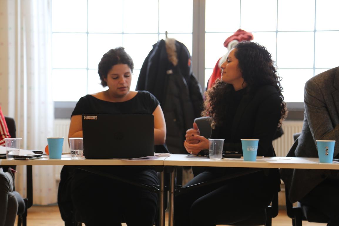 Jasmine Soufi och Samira Savarani är två av One Stop Future Shops delprojektledare.